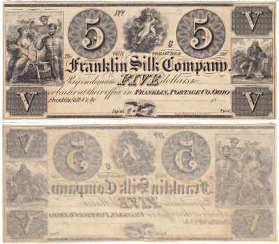 1830's. $5. CCU. OH.