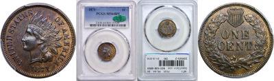 1871. PCGS. MS-64. BN.