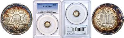 1862/1. PCGS. MS-65.