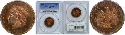 1879. Quarter. PCGS. PR-66. RB. J-1591.