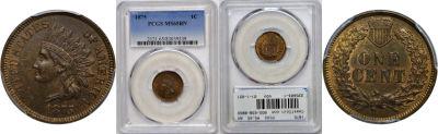 1875. PCGS. MS-65. BN.