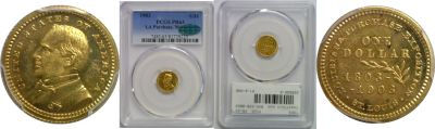 1903. PCGS. PR-63. La. Purchase - McKinley $1.