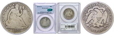 1870-CC. PCGS. G-4.