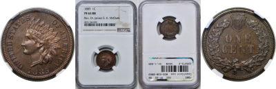 1885. NGC. PF-65. RB.