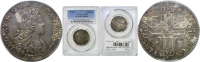 1720-A. French Colonies. PCGS. AU-58.