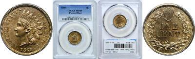 1860. PCGS. MS-64.