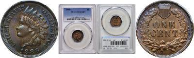 1888. PCGS. MS-65. BN.