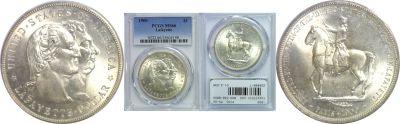 1900. PCGS. MS-66. Lafayette Dollar.