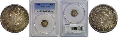 1833. PCGS. MS-63.