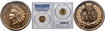 1881. PCGS. PR-66. RD.