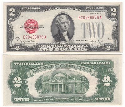 1928-G. $2. F-1508. CCU. Legal Tender Note.