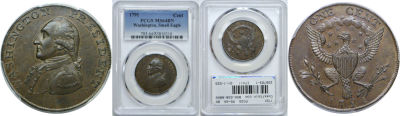 1791. Washington. PCGS. MS-64. BN.