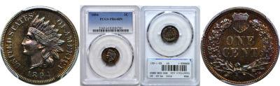 1894. PCGS. PR-64. BN.