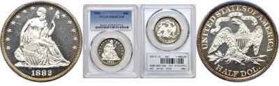 1882. PCGS. PR-65. CAM.