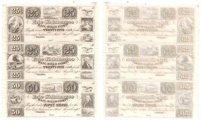 1840's. 25c/25c/50c. CCU. MI.