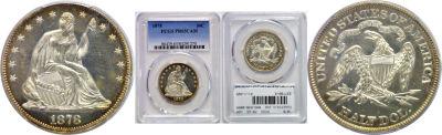 1878. PCGS. PR-65. CAM.