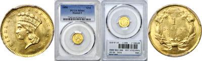 1856. PCGS. MS-64.