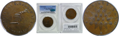 (1792-94). Kentucky Token. PCGS. MS-65. BN.