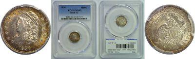 1836. PCGS. MS-63.