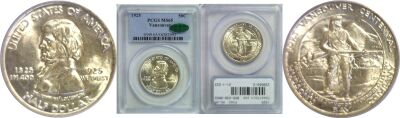 1925. PCGS. MS-65. Ft. Vancouver.