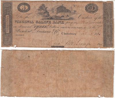 1815. $3. VG. VA.
