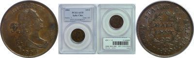 1804. PCGS. AU-55.