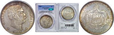 1883. Dollar. PCGS. MS-63.
