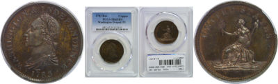 1783. Washington. PCGS. PR-65. BN.