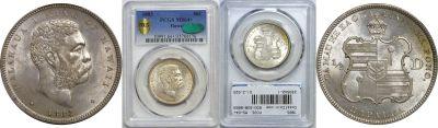 1883. Half Dollar. PCGS. MS-64+.
