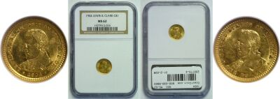 1904. NGC. MS-62. Lewis and Clark $1.