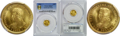 1904. PCGS. MS-67. Lewis and Clark $1.