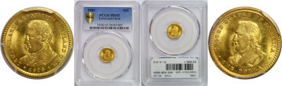 1905. PCGS. MS-65. Lewis and Clark $1.