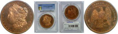 1879. Dollar. PCGS. PR-66. RB. J-1616.