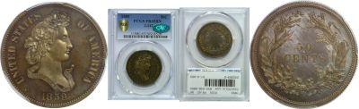 1859. Half Dollar. PCGS. PR-65. BN. J-242.