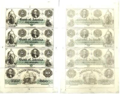 1860. $5/$10. CU. RI.