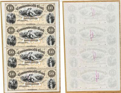 1850's. $10. CU. PA.
