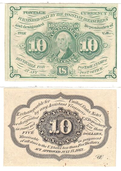 10c. 1st Issue. CU. F-1242.