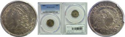 1835. PCGS. AU-55.