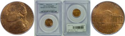 1998. PCGS. MS-64. RD. Nickel. Wrong Planchet.