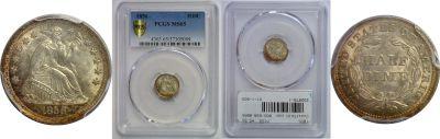 1856. PCGS. MS-65.