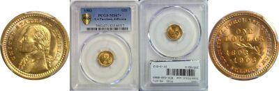 1903. PCGS. MS-67+. La. Purchase - Jefferson $1.