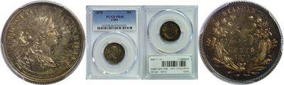 1870. Quarter. PCGS. PR-66. J-894.