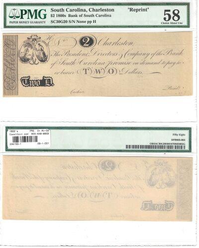 1800's. $2. PMG. Ch AU-58. SC.