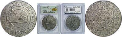 1776. Continental Dollar. PCGS. MS-60.