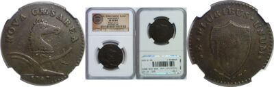 1787. New Jersey. NGC. XF-40.