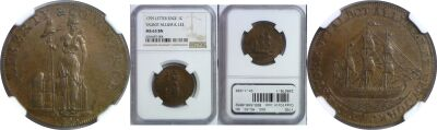 1795. Talbot, Allum and Lee. NGC. MS-63. BN.