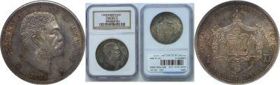 1883. Dollar. NGC. MS-61.