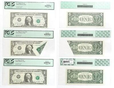 1974. $1. PCGS. Gem-65. PPQ. Federal Reserve Note.