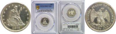 1876. PCGS. PR-61. CAM.