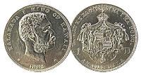 1883. Dollar. AU.